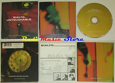 CD Singolo RIALTO Untouchable 1997 EAST WEST 107CD/0630-19098-2 mc dvd (S1)