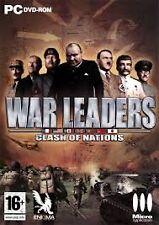 ELDORADODUJEU >>> WAR LEADERS CLASH OF NATIONS Pour PC NEUF VF