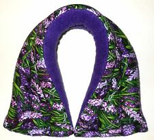 HERBAL HEAT PACK-NECK: Lavender-Farmer John's-Organic Herbal Pad With Rice/Flax