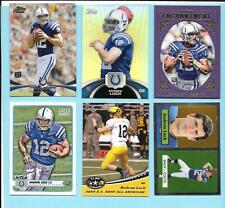 2012 Topps/Stadium/Magic/Leaf/Chrome Andrew Luck Rookie 6 card Lot