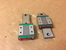 Lot of 2 Hiwin MGWR12H Linear Rail w/ MGW12CH Bearing Blocks Guide Rails