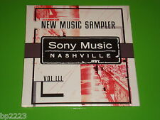 SONY MUSIC NASHVILLE NEW MUSIC SAMPLER FEAT.MIRANDA LAMBERT & MORE PROMO CD-NEW