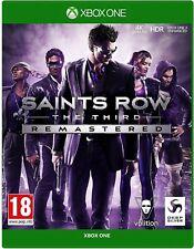 Saints Row el tercer video juego remasterizado XBOX One 1 Original UK release
