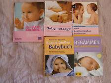 Buchpaket Schwangerschaft, Hebammen, Baby, Geschwister, Babymassage, Kochbuch