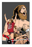 Daniel Bryan Tribute Wrestling Glossy Art Print 8x10 Inches Numbered WWF WCW