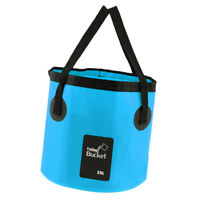 20L Folding Bucket Water Container Bag for Camping Hiking Carp Fishing Car