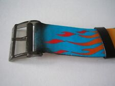 "SWATCH MIDI-POP LEDERARMBAND ""HOT STUFF"" (A302)"