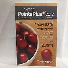 2012 Weight Watchers Meet PointsPlus  Illust Free Shipping