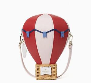 New KATE SPADE Up Up & Away Hot Air Balloon🎈Crossbody Bag Novelty Collector Ite