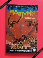 Batman Night Of The Monster Men TPB DC 2017 NM