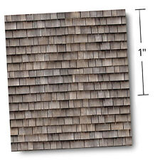 """1/4"""" Scale Dollhouse Wallpaper - Whole Lot of Shaking Goin' On w/Free Tool 1:48"""