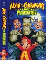Alvin and the Chipmunks Meet Frankenstein (Children's Halloween VHS) *NEW SEALED