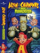 Alvin and the Chipmunks Meet Frankenstein (Children's Halloween VHS Tape) *NEW*