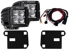 RIGID Fog Light Kit w/ Pair of D-Series PRO LED Lights for 15-17 Chevy Colorado