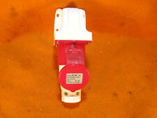 16 Amp 380-415 volt,4pin male  plug/ matching wall mount female receptacle