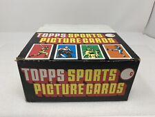 Vintage 1987 Topps Sports Picture Baseball Cards Carton 24 Sealed Packs per box