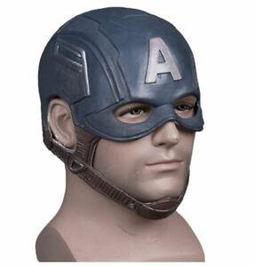Adult Captain America Helmet Halloween Helmet Mask Movie Halloween Mask