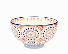 "Pennington Ceramic Pedestal Bowl 5.75"" Marsala Succulent Planter Pot Holder"