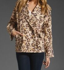 Womens Camilla And Marc 'Shade' Leopard Print Double Breasted Jacket Size S-M