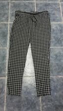 Checked printed maternity pants size L by MAMALICIOUS