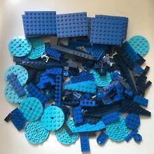 240 original LEGO blue building bricks plates slopes bricks Star Wars MINECRAFT