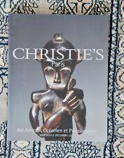 Christie's Paris Art Afriain, Oceanien et Precolombien Decmbre 2004