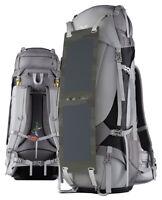 Solar Charging Camping Backpack   Ghostek NRGcamper 60L Outdoor Hiking Trekking