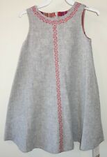 BN ~ Persnickety Kara Embroidered Trim Dress Girl's Sz 12 Year