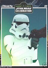 Stormtrooper Official Pix Star Wars Autograph Trading Card Celebration Anaheim