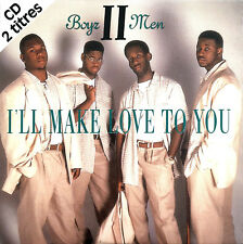 Boyz II Men ‎CD Single I'll Make Love To You - France (EX+/EX+)