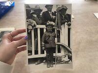 FOTO FOTOGRAFIA ADUNATA DEGLI ALPINI ANNO 1932 GRUPPO PROVINCIA DI CUNEO