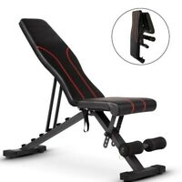 ❥Adjustable Bench,Utility Weight Bench For Full Body Workout Foldable Benchs