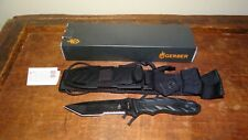 Gerber CFB Combat Fixed Blade Survival Knife 154cm Blade w/sheath USA Made Rare!
