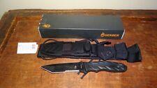 Gerber CFB Combat Fixed Blade Survival Knife 154cm Blade w/sheath USA Made Rare!