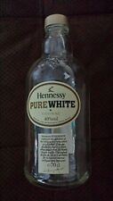"""COLLECTABLE RARE HENNESSY """"PURE WHITE"""" COGNAC BOTTLE  EMPTY"""