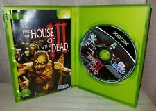 XBOX Game THE HOUSE OF THE DEAD Includes Manual