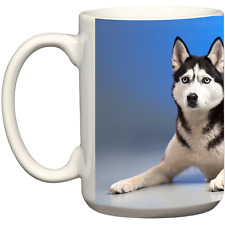 Husky Dog Tea Coffee Mug Christmas Birthday Gift Ideas Dog Lover Gift Pet Owners