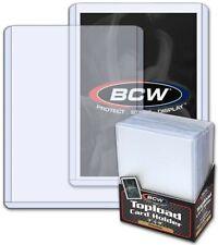 "BCW Standard Trading Card Premium Toploader (3"" x 4"") - Qty. 25"