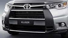 Toyota Kluger (Dec 2013 - Nov 2016) Stainless Steel Nudge Bar (Airbag Compatible