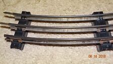 Prewar AMERICAN FLYER 0 Gauge SPECIAL CURVE TRACK with 2 INSULATED RAILS - EXC.