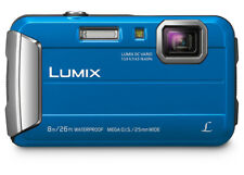 Panasonic Dmcft30 Lumix Blue Digital Underwater Camera