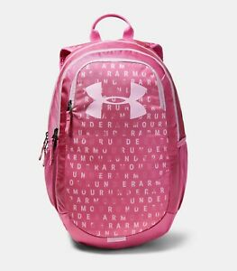 Under Armour Scrimmage 2.0 Youth Girls Backpack Pink Pace