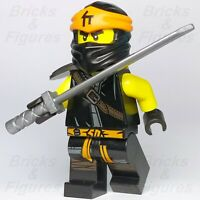 New Ninjago LEGO® Cole Secret of the Forbidden Spinjitsu Black Ninja 70678 70672