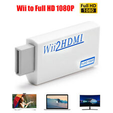 Portable Wii to HDMI Wii2HDMI Full HD Converter Audio Output Adapter TV*