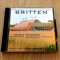 Benjamin Britten – Double Concerto/Two Porraits/Young Apollo/Sinfonietta NEW CD