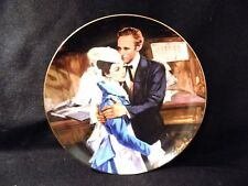 """GONE WITH THE WIND COLLECTORS PLATE """" QUESTION OF HONOR"""""""
