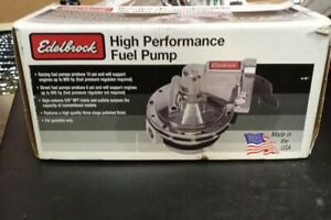 Edelbrock 1712 Victor Series Racing Mechanical Fuel Pump, Chevy/GMC