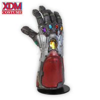 Avengers 4 Endgame Iron Man Infinity Gauntlet Cosplay Superhero Weapon Props