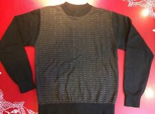 Chereskin Sweater Medium Black Brown