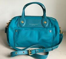 RRP £275 - Marc By Marc Jacobs Teal Preppy Nylon Taryn Bag - New With Tags